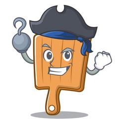 Pirates kitchen board character cartoon vector