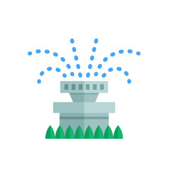 water sprinkler icon vector image vector image