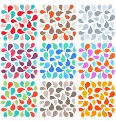 drop background vector image