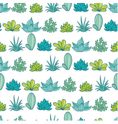 Blue green stripes seamless repeat pattern vector