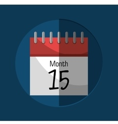 Calendar payday month vector