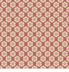 Pink oriental vintage style background vector