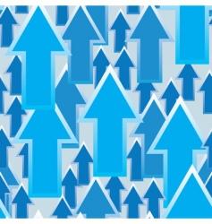 arrow pattern vector image vector image