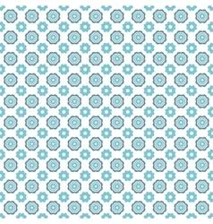 Light winter romantic pattern tiling vector image vector image