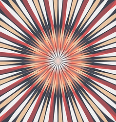 Abstract Colorful Rays Background vector image