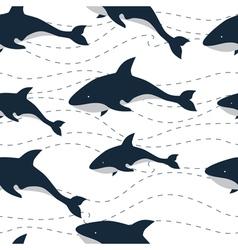 Pattern killer sea vector