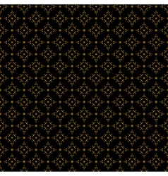 dark pattern with black background vector image vector image