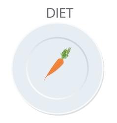 diet icon vector image