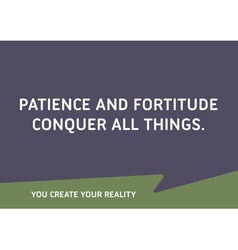 Motivational quote words that inspire your succes vector