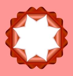 Decorative rosette vector