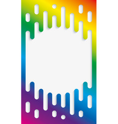 Colorful halftone transition background with vector