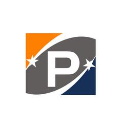 Success solution letter p vector