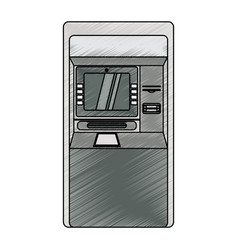 Atm bank machine vector
