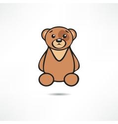 Crying bear vector image