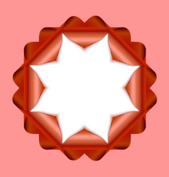 Decorative rosette vector