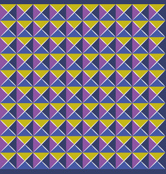 Pattern mosaic style vector