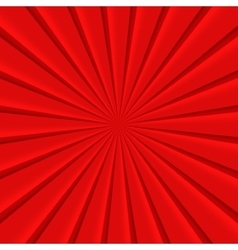 Red abstract rays circle background vector