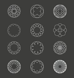 Spiral Patterns vector image