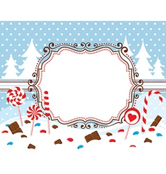 Sweet winter vector image vector image