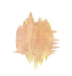 watercolor blot vector image