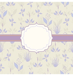 Background with grass in pastel colors vector