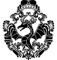 Dragon arms vector