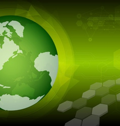 Global green technology vector
