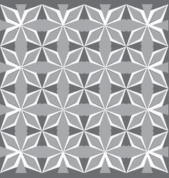 art abstract geometric gray seamless pattern vector image