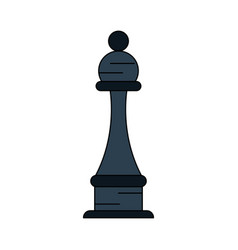 chess piece isolated vector image