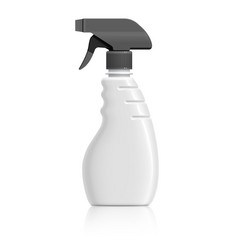 plastic bottle can spray pistol vector image vector image