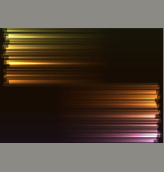 Warm tone opposite side abstract bar line vector