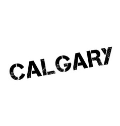 Calgary rubber stamp vector