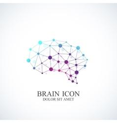 Colorful Template Brain Logo Creative vector image