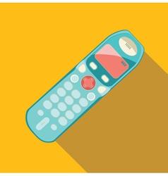 phone retro vector image