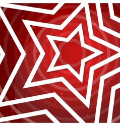 Paper star on the red power background for vector
