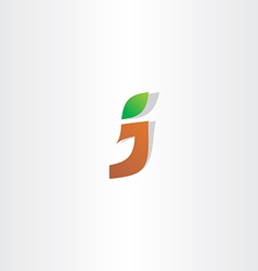 Letter j logotype logo icon vector