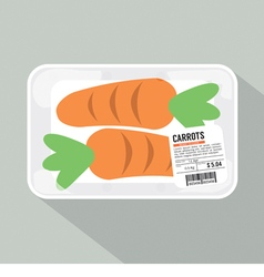 Carrots pack vector