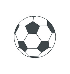 Soccer-ball isolated on white for vector