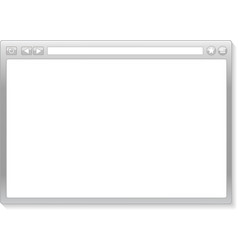 Browser window vector