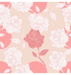 Roses ornament vector