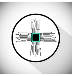 Circuit board cpu vector