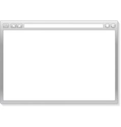 Browser window vector