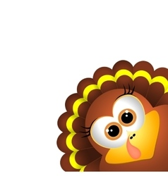 Card for thanksgiving day vector
