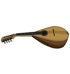 Classic italy mandolin vector
