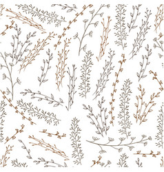 doodle pattern vector image vector image