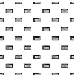 Electronic synth pattern vector