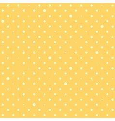 Yellow Star Polka Dots Background vector image vector image