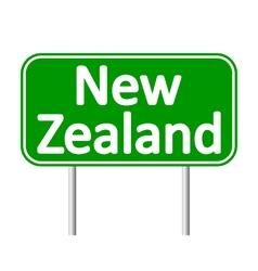 New zealand road sign vector
