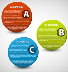 3d progress buttons vector