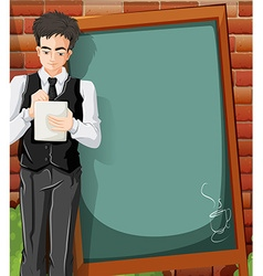 tn CafeCPspace01 vector image